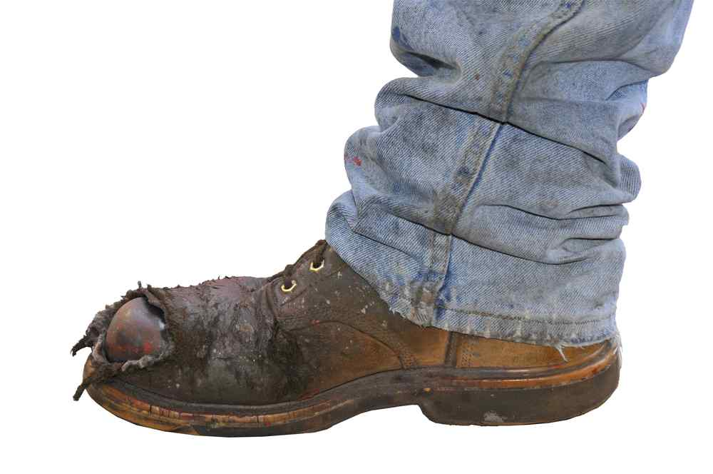 can i wear steel toe shoes with plantar fasciitis at my workplace