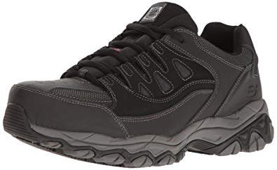 steel toes work shoes for heel pain